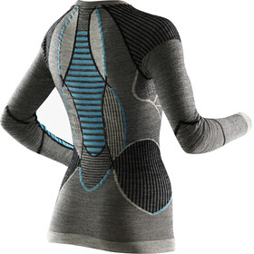 X-Bionic Apani Merino Ondergoed bovenlijf Dames grijs